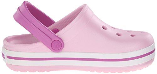 Kids Niños Crocs Orchid Crocband wild Zuecos Pink ballerina Unisex Rosa wC51q6