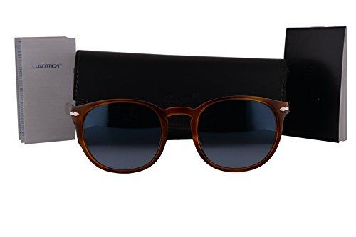 ce8f3bca99 Persol PO3157S Sunglasses Brown Havana w Blue Gradient Lens 54mm 96Q8 PO -  Po0714sm