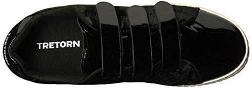 Tretorn Womens Carry4 Sneaker Zwart Patent