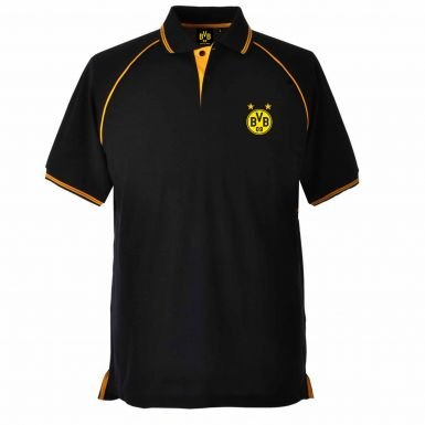 Borussia Dortmund Crest Polo Shirt