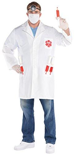 Lab Costume Ideas (Christys Dress Up Mens Dr Hot Shot Costume Dr Hot Shot - Standard)