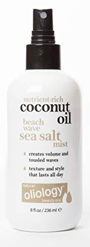 Oliology Coconut Oil Beach Wave Sea Salt Mist Spray, 8 ()
