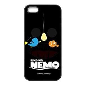 Findet Nemo Cartoon Apple iPhone 5 / 5s TPU Rubber Sides-Fall-Abdeckung