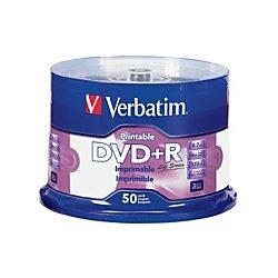 Verbatim - 16x Dvd+r Discs  - White