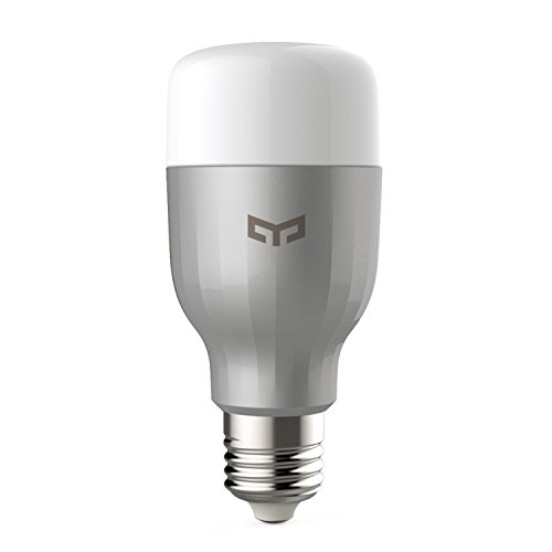 Xiaomi YLDP03YL Yeelight Smart LED Light Bulb Remote Control, Dimmable RGB Color Changing, 60W Equivalent, E26 110V (US Version with Warranty)