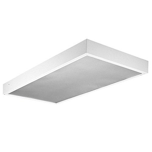 Office Modular Cottage (Lithonia Lighting M 2 32 A12 MVOLT GEB10IS 2-Light Fluorescent Surface Mount General Purpose Troffer, 4-Feet, White)