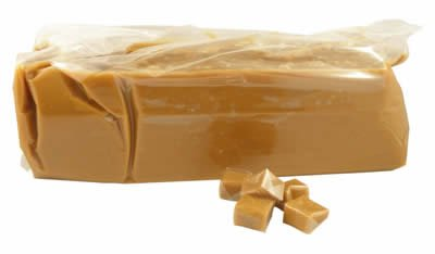 Callebaut Caramel Loaf, Five Pounds * PROFESSIONAL / BULK * 5 Lbs / (Pack of 1) by Callebaut