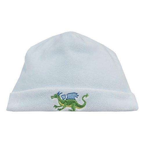 Kissy Kissy Baby Boys Knights Tale Velour Hat - Blue-Small