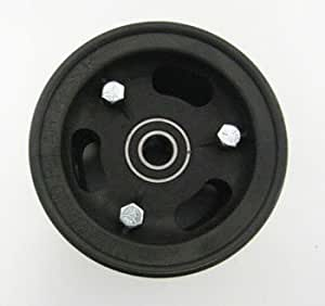"""4""""azusalite rueda, 3"""" de ancho para 1–3/8""""OD rodamientos de bolas con 5/8"""" ID rodamientos de bolas de precisión"""