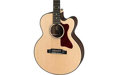 Antique Acoustic Guitar - Gibson 2019 Parlor Avant Garde Acoustic-Electric Guitar Antique Natural