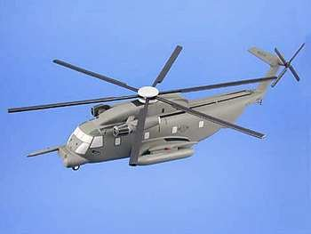 - MH-53J Pave Low USAF Wood Helicopter Model