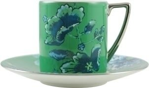Wedgwood Jasper Conran Chinoiserie Green Espresso Cup 0.075L (Cup Only) -