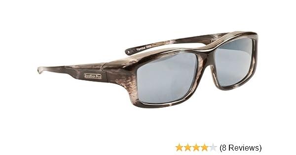 8315036acc Amazon.com  Fitovers Eyewear Yamba Nagari Sunglasses (Blue Marble