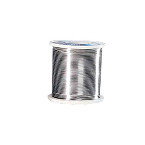 Gloryelenxs 1.0MM 100g Tin Solder Wire Low Melting Point Welding Rosin Tin Core for Welding Rework Repair ()
