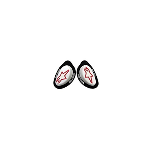 Alpinestars GP Knee Sliders (Pair) (White)