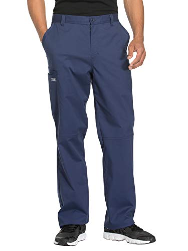 - Cherokee Workwear Core Stretch WW200 Men's Fly Front Pant Navy M