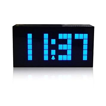 RTMN Despertador Alarma Reloj Digital Mesa Reloj Cara Única ...