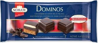 Schulte Dark Chocolate Dominos 4.4oz