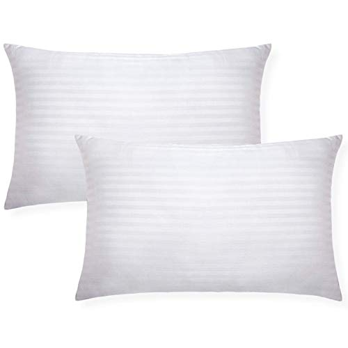 tuphen- Bed Pillows for Sleeping 2 Pack Queen Hypoallergenic, Cooling Gel Pillows Queen Size, Down Alternative Pillows Soft, Hotel Luxury Reserve Collection Pillow, White (Standard)
