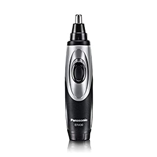 Panasonic Nose Hair Trimmer and Ear Hair Trimmer ER430K, Vacuum Cleaning System , Men's, Wet/Dry, Battery-Operated (B000FYVOJC) | Amazon price tracker / tracking, Amazon price history charts, Amazon price watches, Amazon price drop alerts