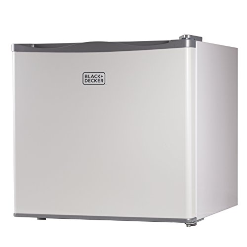 BLACK+DECKER, Compact Upright Freezer, Single Door, 1.2 Cubic Feet, White BUFK12W
