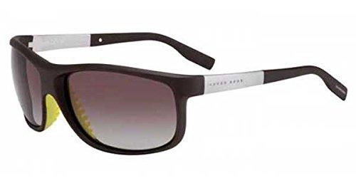 Hugo Boss M-SG-1869 Hugo Boss Boss 0522-S AMELA-Brown Polarized Mens Sunglasses, 64-15-125 mm by Hugo Boss