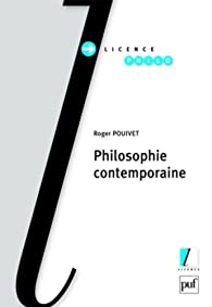 Philosophie contemporaine par Pouivet