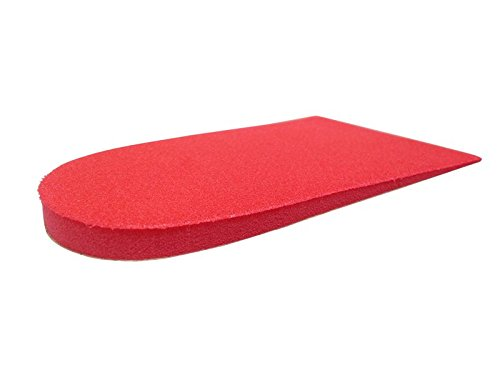 Vasyli Heel Lift To Resolve Limb Length Discrepancy And Reduce Stress On Lower Leg - Red Large 6Mm - 5 Pairs by Vasyli