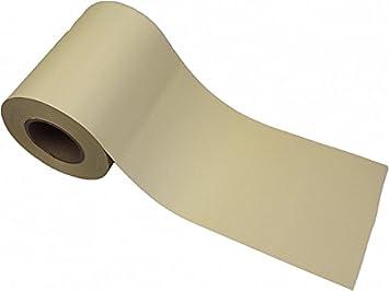 Pvc Folie Fur Doppelstabmatten 40 Mx 19 5 Cm Beige Creme Incl 20 Klemmschienen In Transparent Gitterstabmatten Zaun Sichtschutz Blickdicht