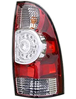 fits 2009-2015 toyota tacoma rear tail light passenger side to2801177 led  type