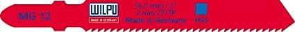 2 St/ück T-Schaft-Aufnahme WILPU Stichs/ägeblatt MG 12 mit Einnockenschaft-