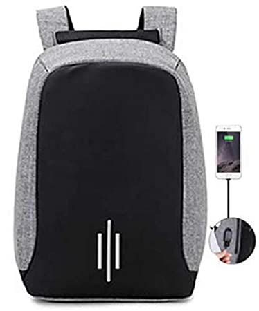 fa74d2a1b Mochila notebook Anti Furto Roubo impermeavel saida Usb tablet Preta Laptop  escolar