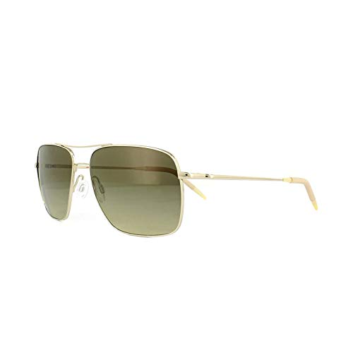 - Oliver Peoples OV1150S - 503585 Sunglasses GOLD w/ Chrome Olive Photochromic Lens 58MM