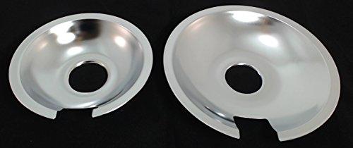 Jenn Air Range Stove Cooktop Drip Pan Set, 715877 & 715878
