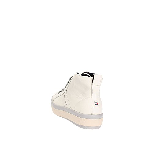 TOMMY HILFIGER Damen High-Top Sneaker Schnürschuhe STACY 1A white