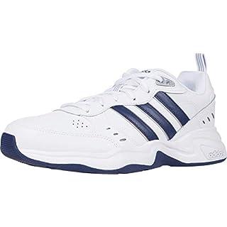 adidas Men's Strutter Cross Trainer, White/Black, 10 M US