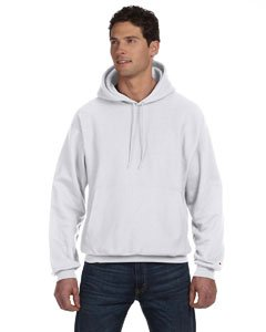 - Champion Reverse Weave 12 oz. Pullover Hood, Medium, SILVER GRAY