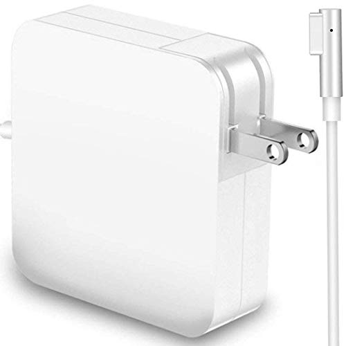 XUBOX Charger 60W Replacement Compatible with MacBook Pro Magsafe L-Tip Replacement Power Adapter for MacBook Pro 13-inch - Before Mid 2012 White