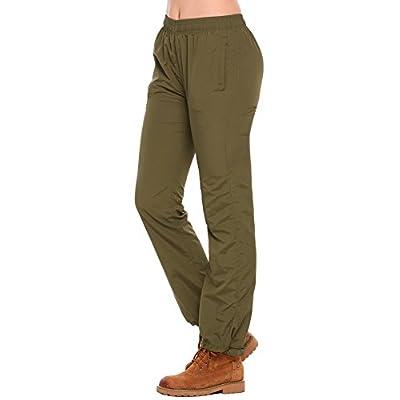 Hot Zeagoo Women's Quick Dry Outdoor Waterproof Hiking Mountain Pants Drawcord Adjustable Waist and Leg hot sale
