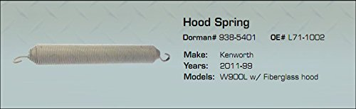 Used, Kenworth Hood Spring W900L w/Fiberglass hood 2011-99 for sale  Delivered anywhere in USA