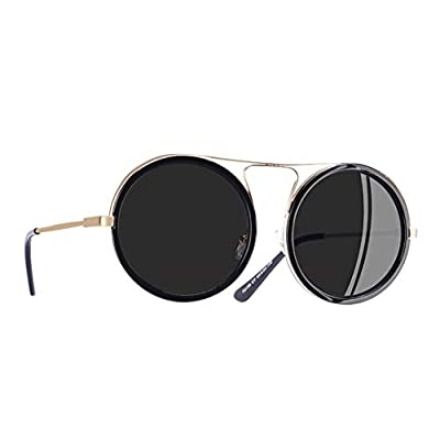 Vintage Round Sunglasses Women Reflective Sunglasses Female Women's Shades UV400 AF79136