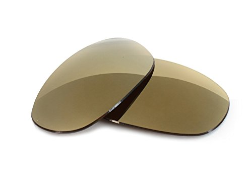 Fuse Lenses for Maui Jim Twin Falls MJ-417 - Bronze Mirror Tint by Fuse Lenses