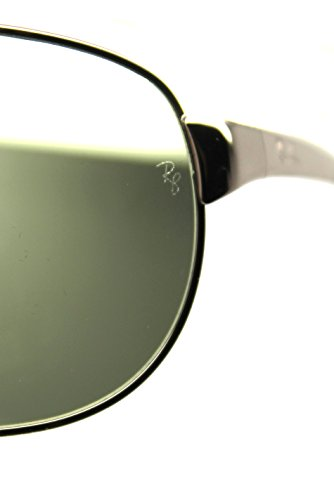0fbfc35b5b New Authentic Ray-ban Rb 3342 004/58 60mm Gunmetal & Polarized Natural Green