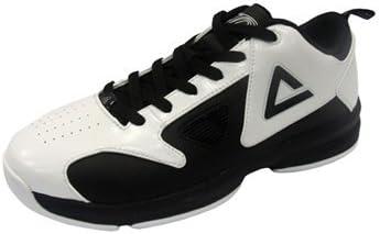 Peak – Zapatillas de Baloncesto para Tony Parker Kids Replica White de Black (e42000 a), Color, Talla (EUR/FR 37) (US 5.5) (MM 235): Amazon.es: Zapatos y complementos