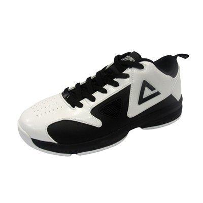 Peak – Zapatillas de baloncesto para Tony Parker Kids Replica White de Black (e42000 a
