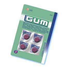 Butler GUM Dental Plaque Disclosing Tablets (20 Tablets)