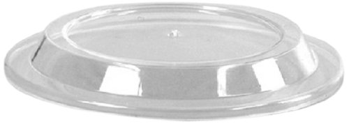 Comet Plastic Round Injection Molded Lid for DD6 Dessert Dish, Clear (1000-Count) by WNA