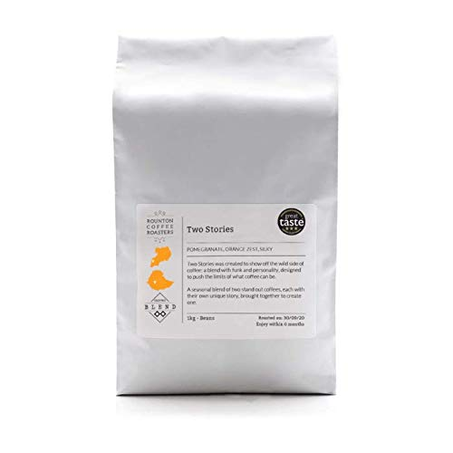1kg Coffee Beans TWO STORIES Sweet & Fruity Blend | Rounton Coffee Roasters | Roasted in Yorkshire | Whole Coffee Beans…