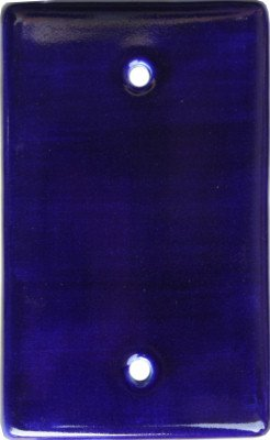 Talavera Ceramic Switch (Blue Talavera Ceramic Cover Switch Plate)