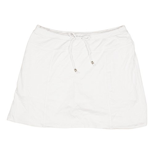 Price comparison product image Green Tea Womens Textured Knit Skort XX-Large White